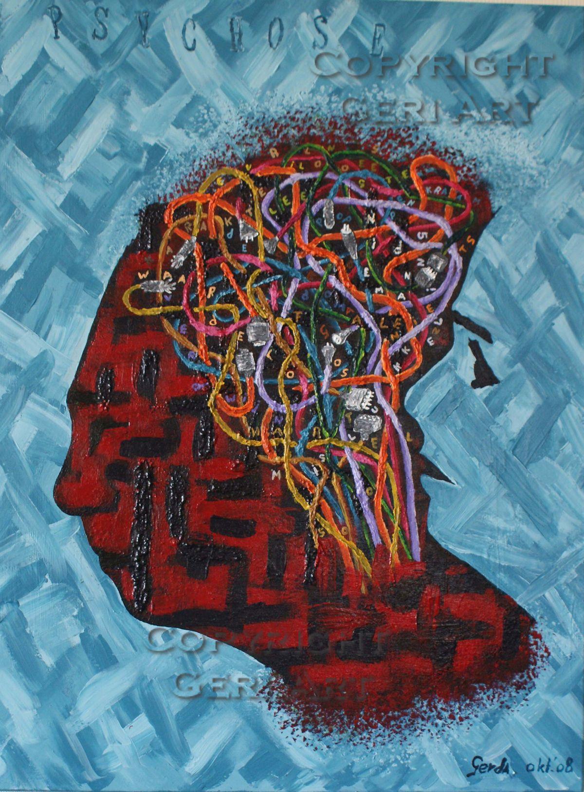 Psychose Kunst