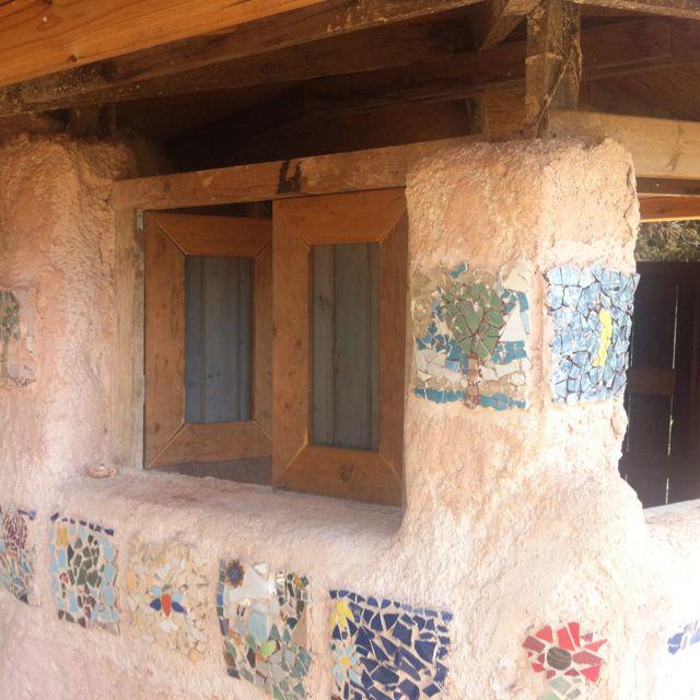 Tools house made by mud bricks