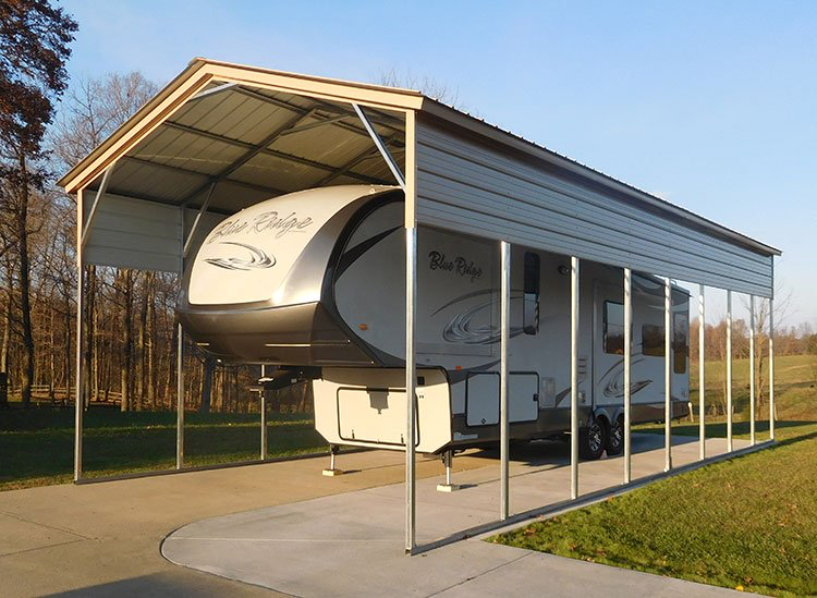 With our metal RV covers, you'll get an affordable