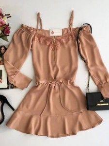 Compre Vestido Feminino pelo Menor Preço e encontre tudo em moda feminina  para renovar seu guarda roupas. 58c555f2595d7