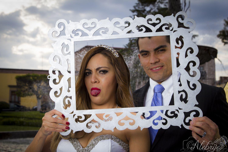 Fotografía de bodas en Morelia. Jardín de Villalongín.