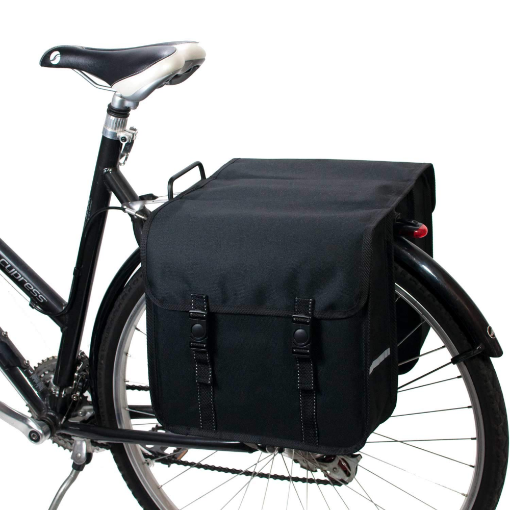 BikyBag Classic L Double Panniers Bag Fashion Bicycle Cycle Bike Womens Mens