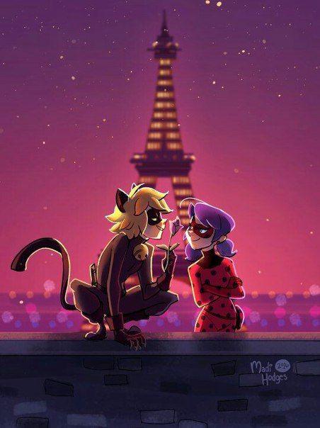 Париж кот нуар
