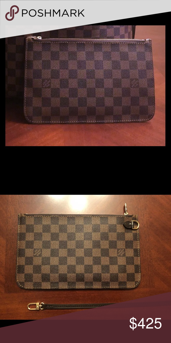 302b6da7a7f Louis Vuitton Neverfull Pouch Pochette Wristlet Brand new. Never used. Mint  condition. Came