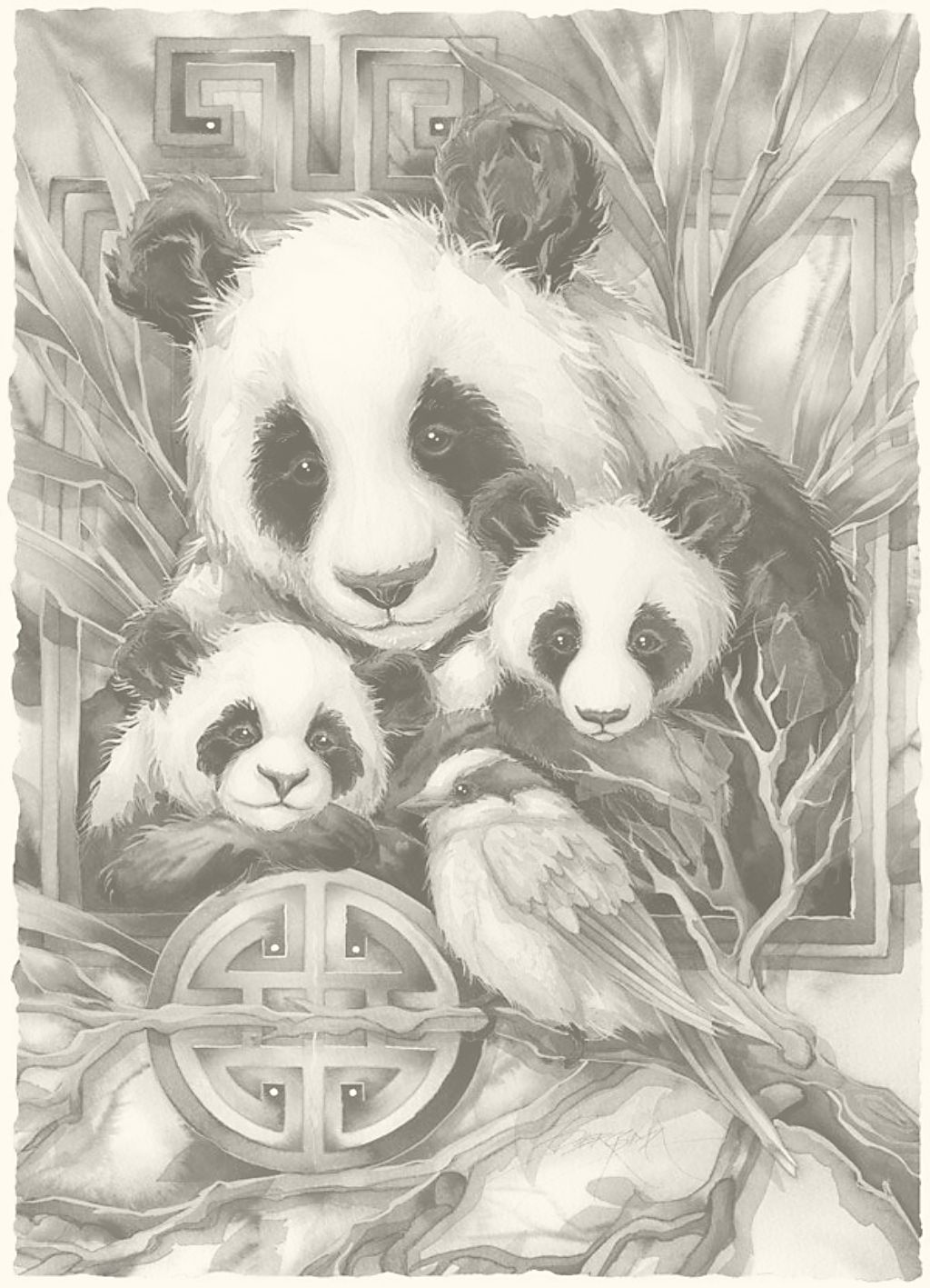 Alle Zwart Wit Platen Zijn Goed Uit De Printen Op 13 18 Cm Grayscale Coloring Animal Coloring Books Grayscale Art