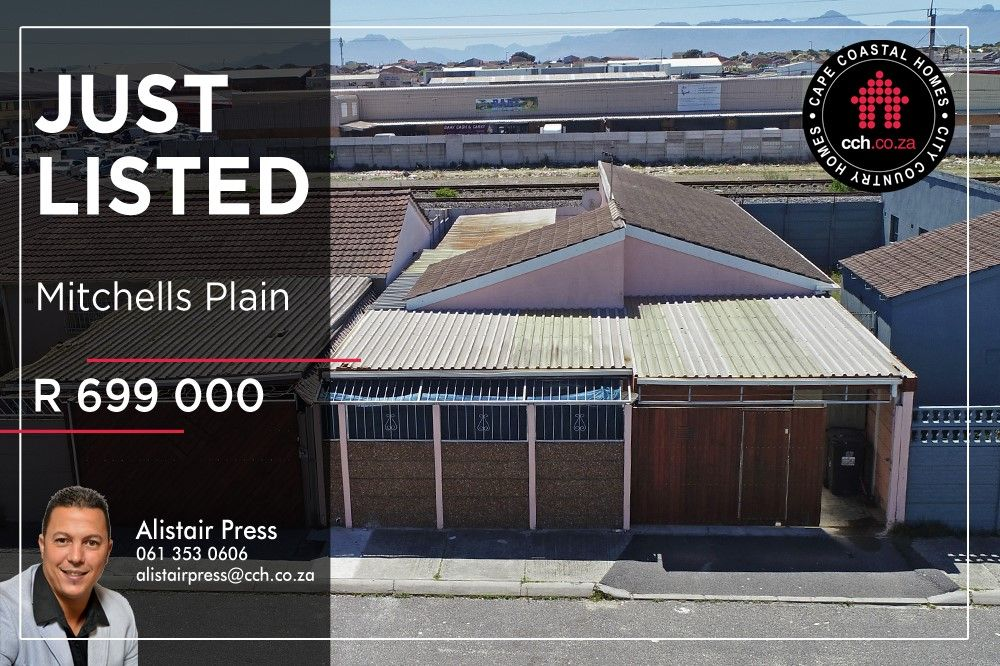 3 Bedroom Home For Sale in Mitchells Plain R 699 000