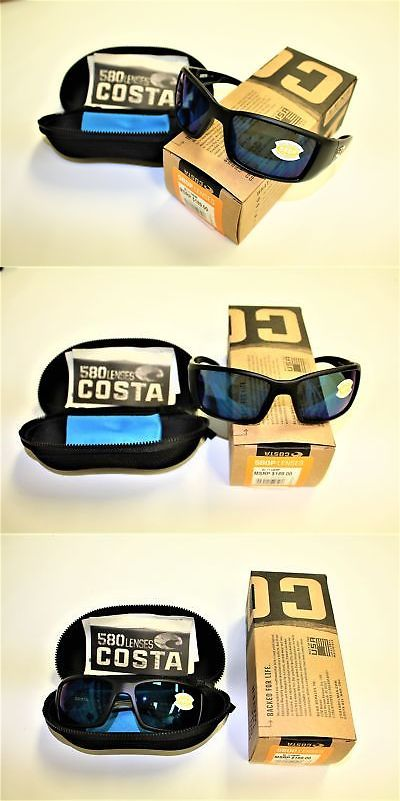 cfc7878ac9 Sunglasses 151543  Costa Del Mar Blackfin Blue Mirror 580P Matte Black  Frame- Bl 11