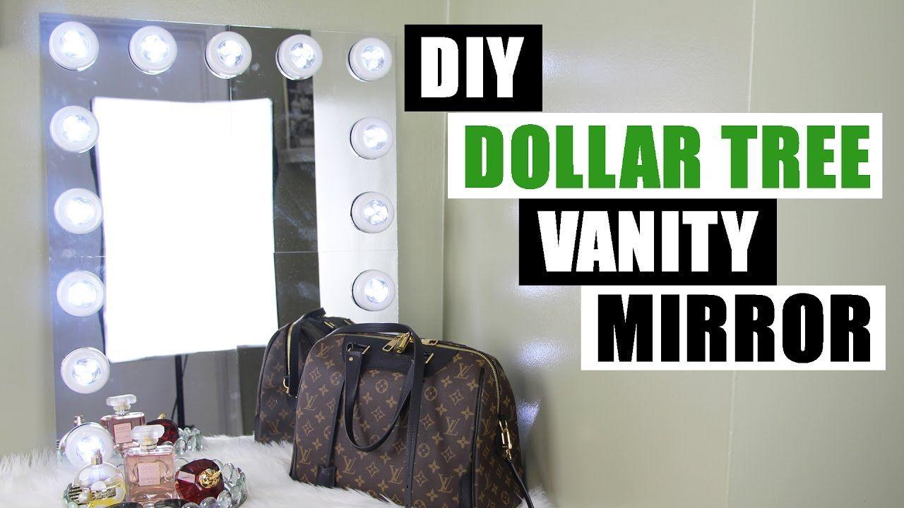 Dollar tree diy vanity mirror large diy vanity mirror tutorial
