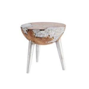 Beistelltisch aluminium  Beistelltisch - Aluminium 539E/669 | Epoxidharz Tische / Möbel ...