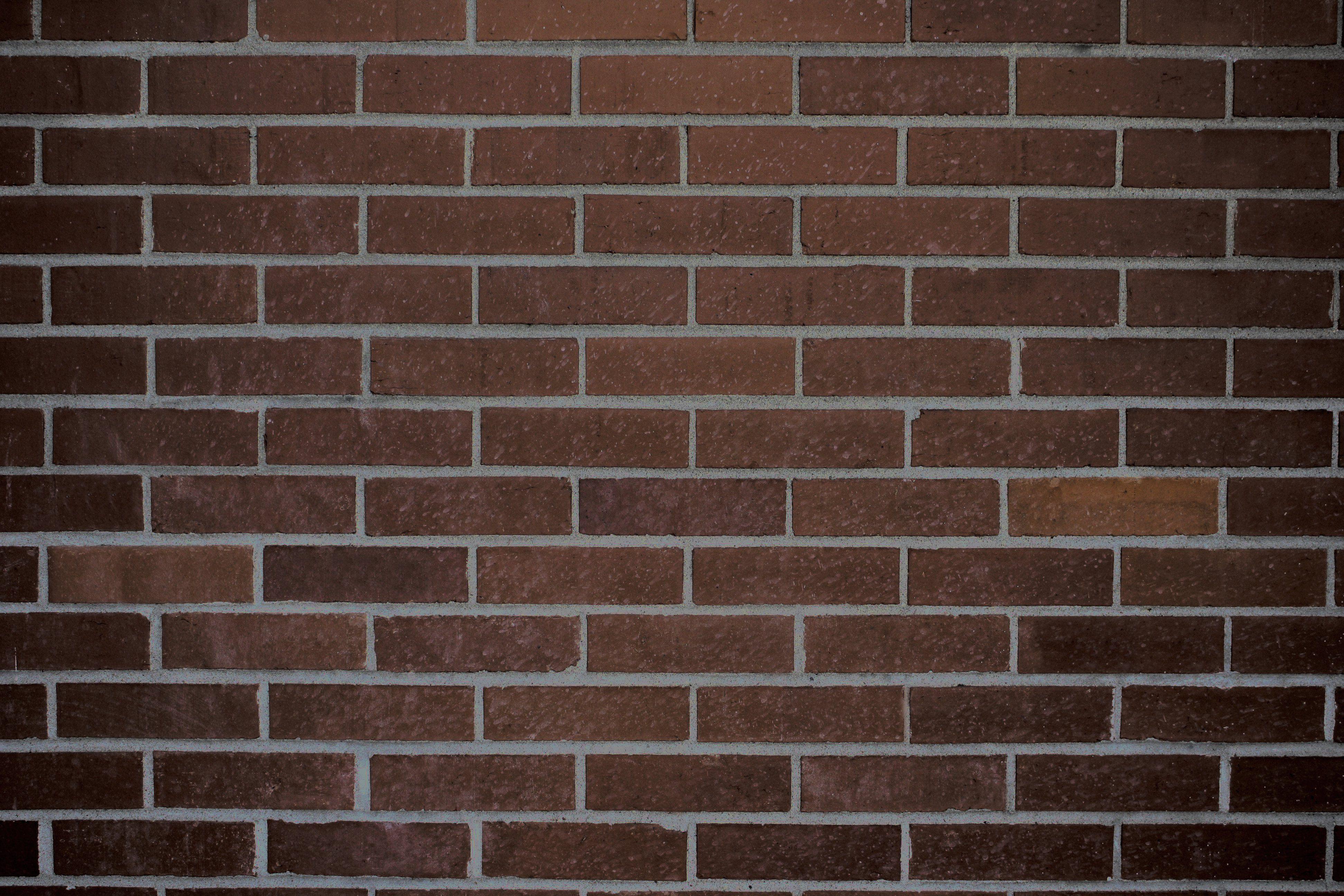Dark Brown Brick Wall Texture