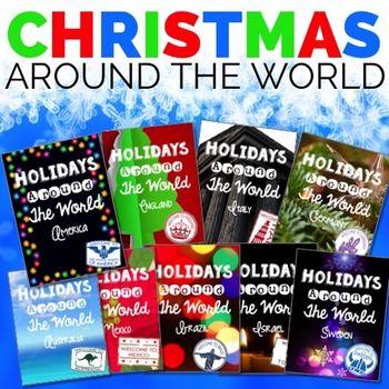 Christmas Around the World, Christmas Activities, Holidays Around