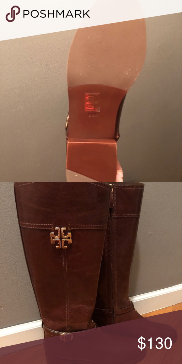 3e7875f044e6 Never worn  NWOT. Sz 9.5M Beautiful brown riding Tory Burch Riding Boots. Never  worn