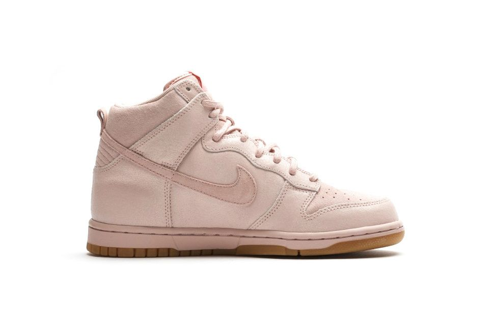 Nike Dunk High Premium Oxford Pink 881232-600 | Nike dunks, Oxfords and  Woman