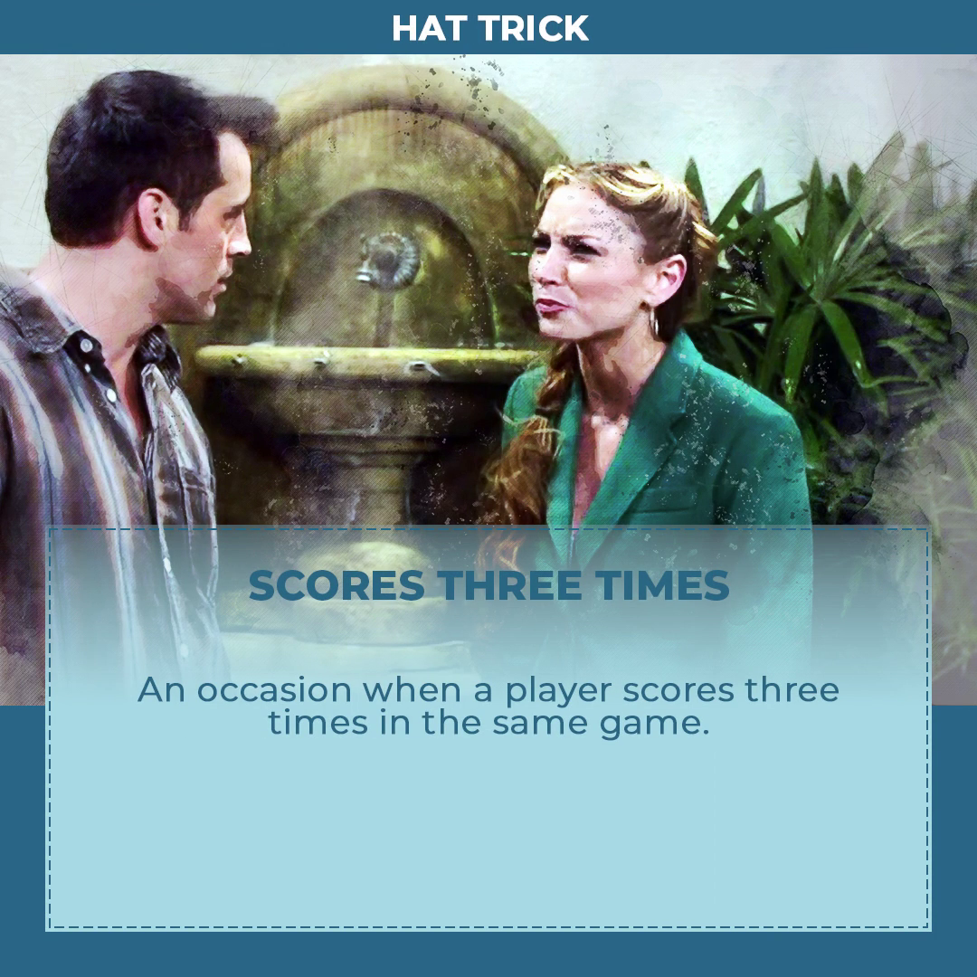 Hi Our Idiom Of The Day Is Hat Trick And What Does That Mean Scores Three Times Hattrick Asea Learning English Online Phrase Of The Day English Idioms