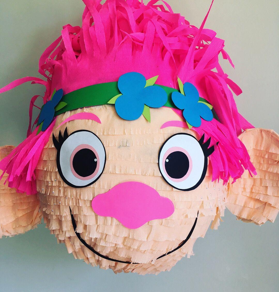 Princess poppy piñata from Pinatas Pinatas  | Pinatas ROCK