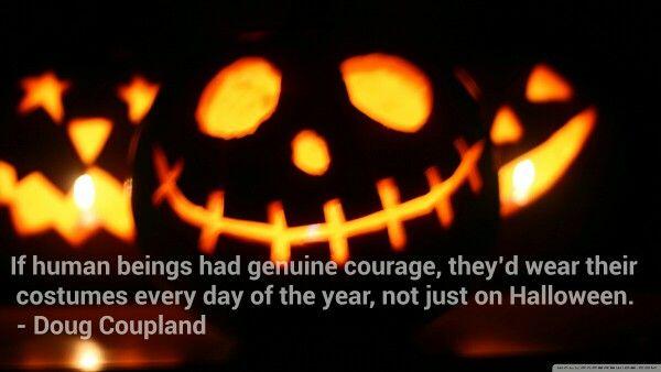 Doug Coupland on Halloween