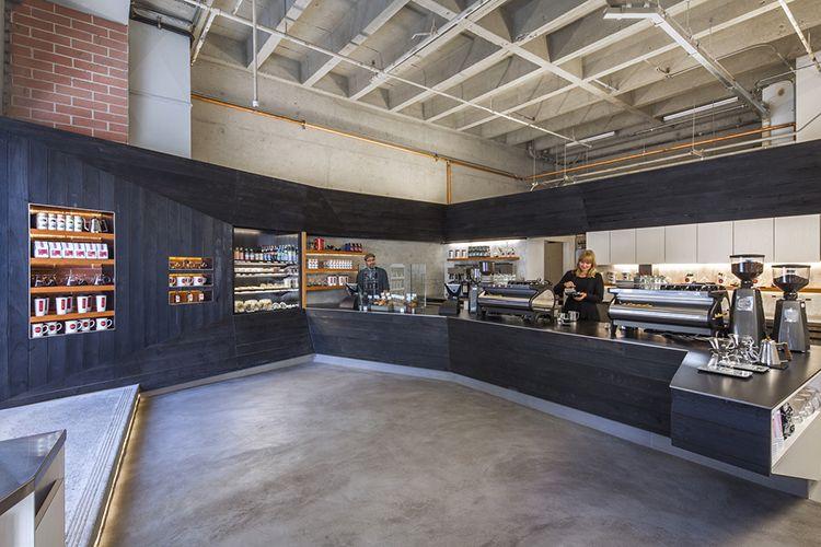 Coffee bar kearny by jones haydu san francisco coffee