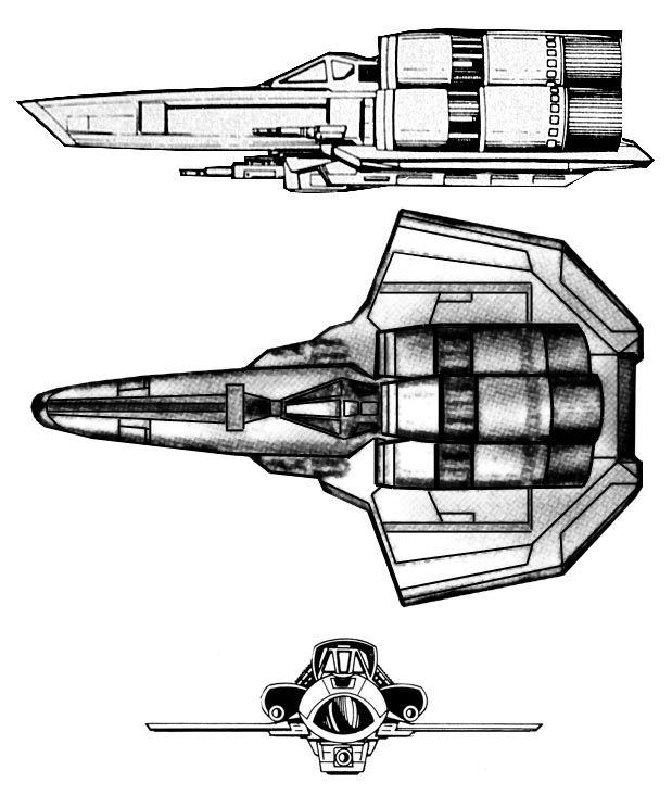Viper Mk1 From Battlestar Galactica Battlefleet Gothic