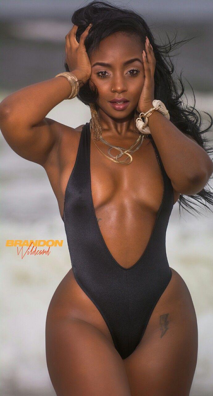 Ebony female models