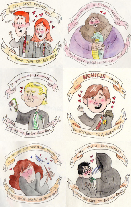 Harry Potter and the Ultimate Valentine – Late Valentine Cards