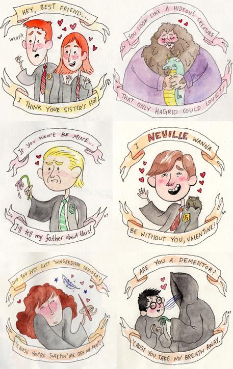 Harry Potter And The Ultimate Valentine Harry Potter Fan Art Nerd Harry Potter