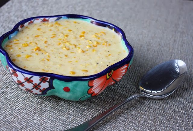 DELICIOUS Creamed Corn recipe! I tried it myself and I couldn't stop eating it.