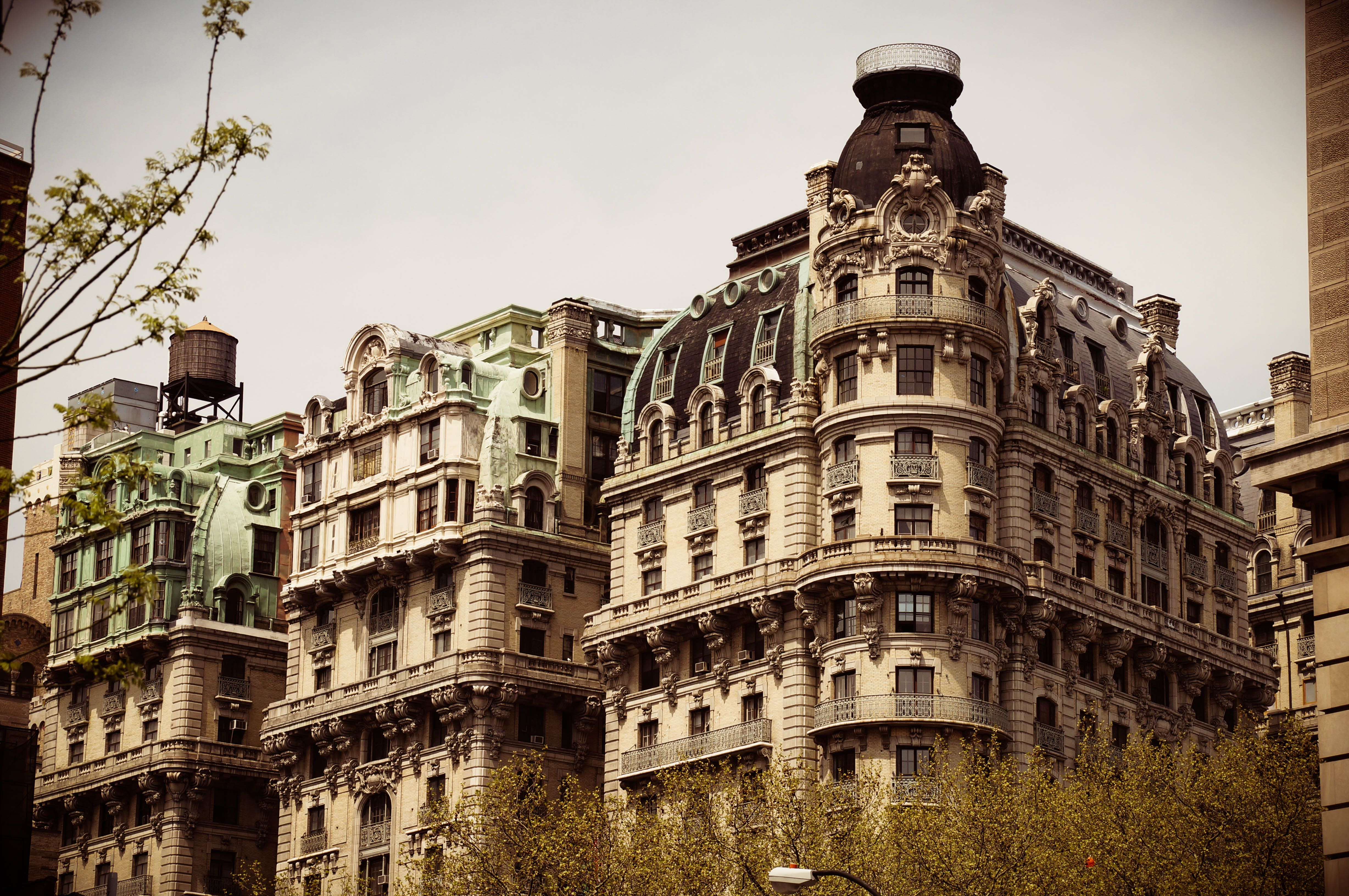 The Ansonia is a building on the Upper West Side of New York City ...