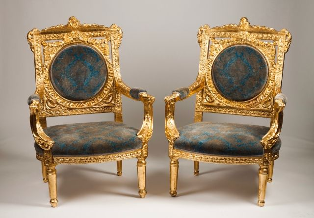 A pair of Napoleon III fauteuils | Sofa and chair | Pinterest ...