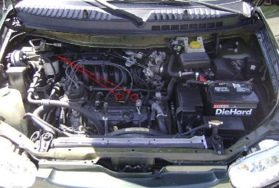 Nissan Quest: Replaced knock sensor, then engine cooling ...