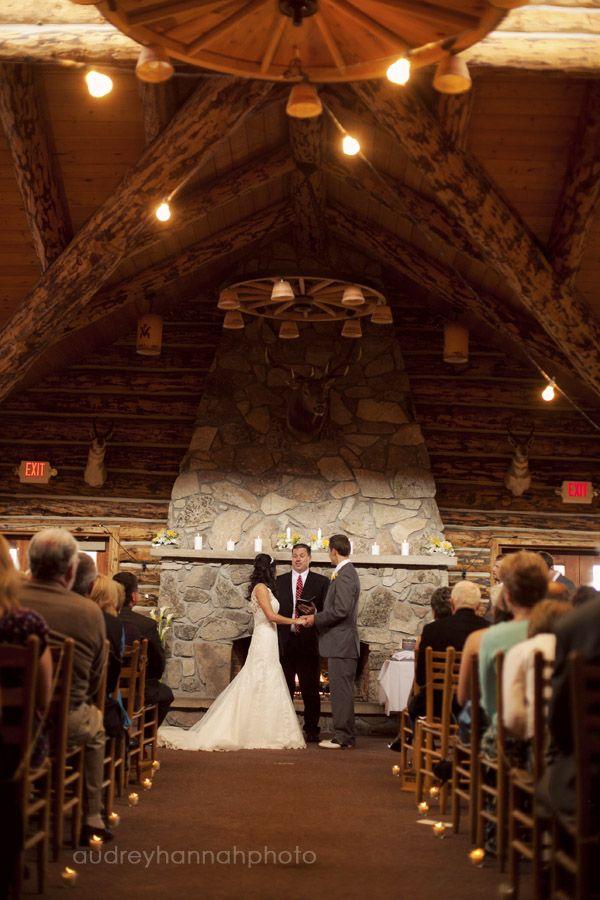 holy frajoli. cabin style wedding... mmmmm :)