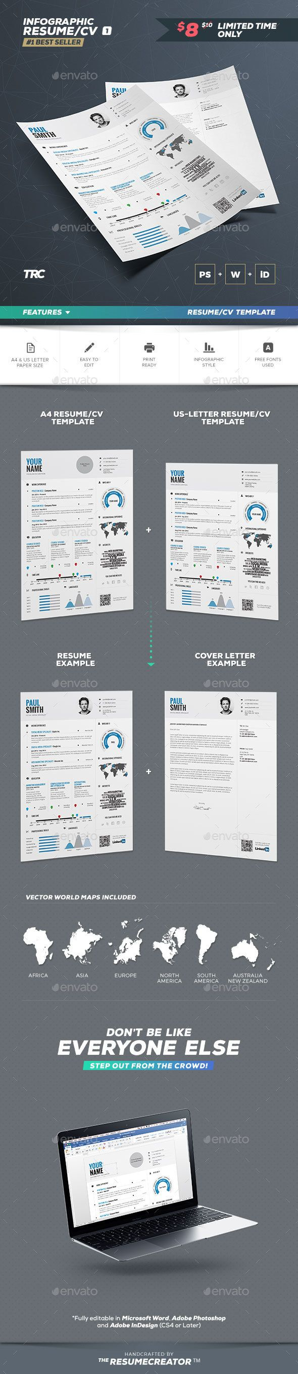 Infographic Resume Vol.1