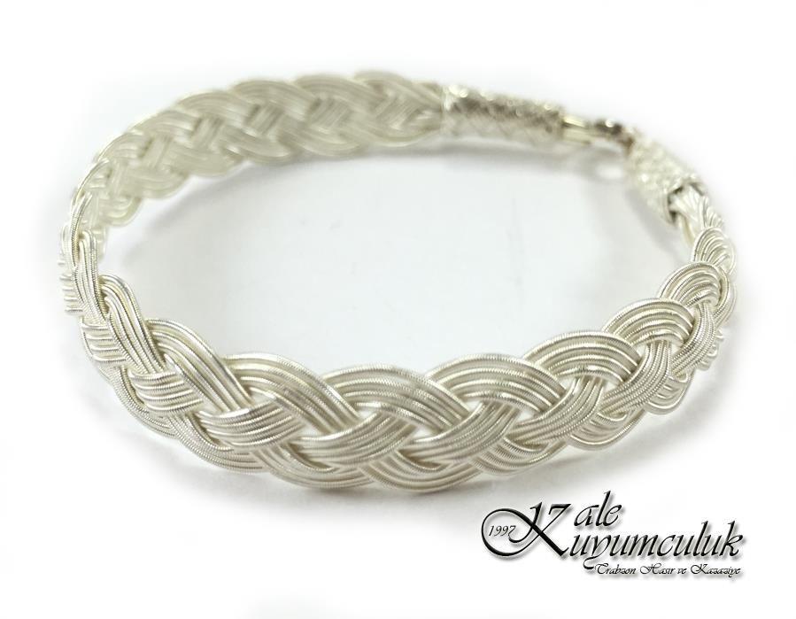 1000 AYAR GÜMÜŞ KAZAZİYE BİLEKLİK | Jewelry | Pinterest | Wire ...