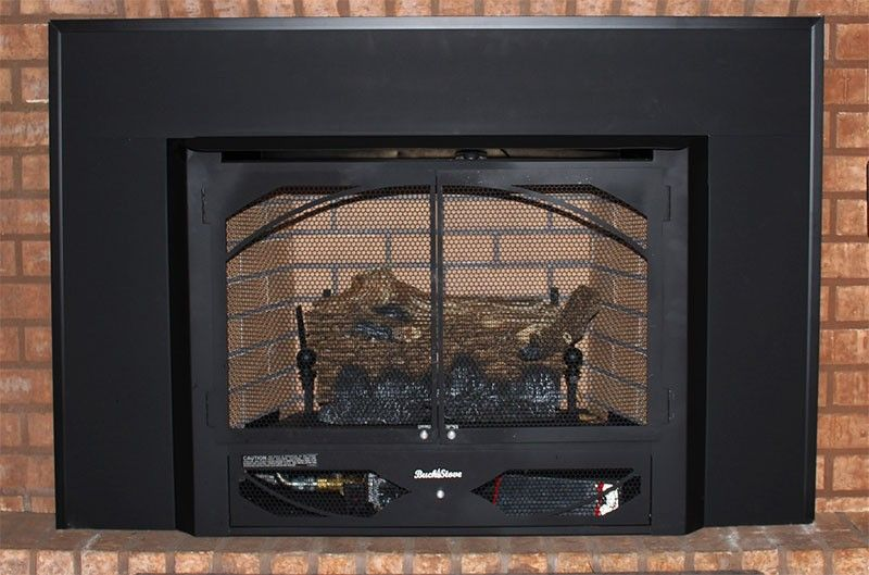 Buck Stove Model 384 Vent Free Gas Stove Or Fireplace Buck Stove
