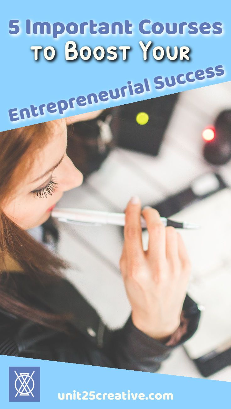 Important Courses To Boost Your Entrepreneurial Success  Public