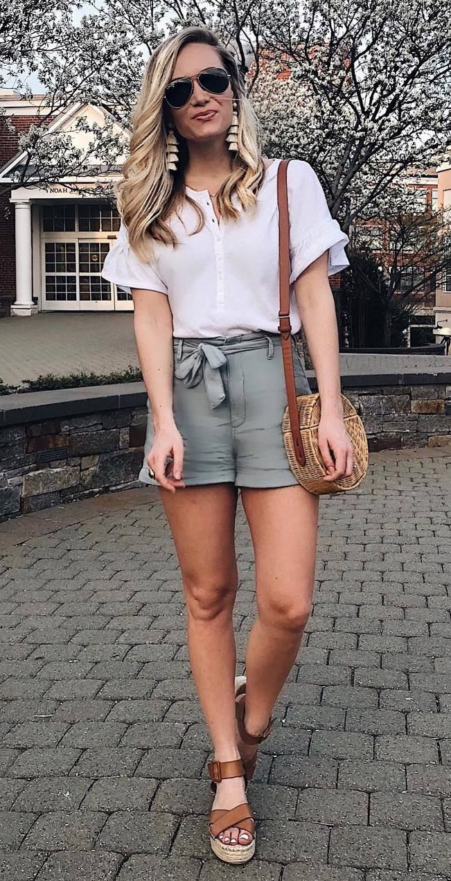 Summer Cute Outfits With Sandals