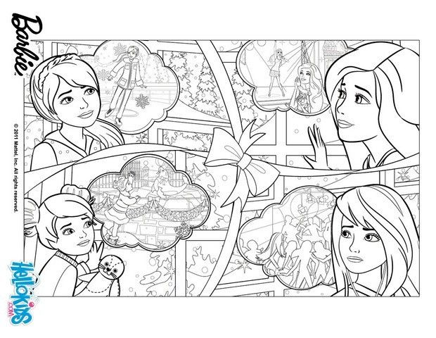 Barbie In A Perfect Christmas Coloring Pages Barbie S Family For Christmas Family Coloring Pages Coloring Pages Christmas Coloring Pages
