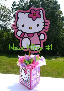 DIY 12 inch Hello Kitty birthday party by pinkyandblueboycom 1000