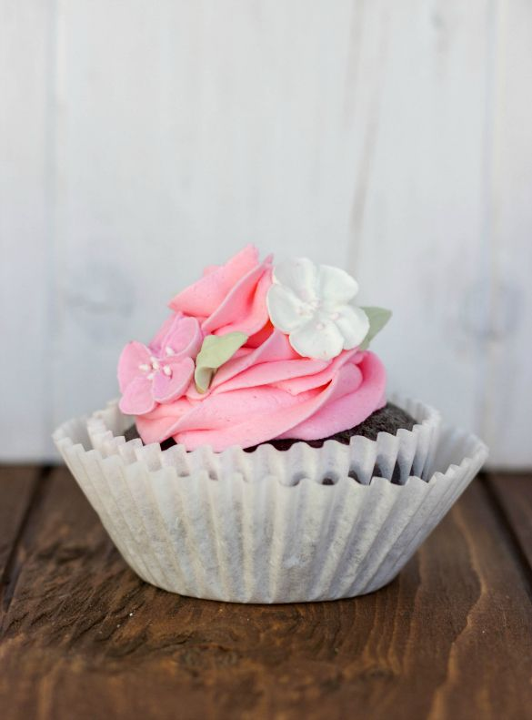 Pretty in Pink Cupcakes!