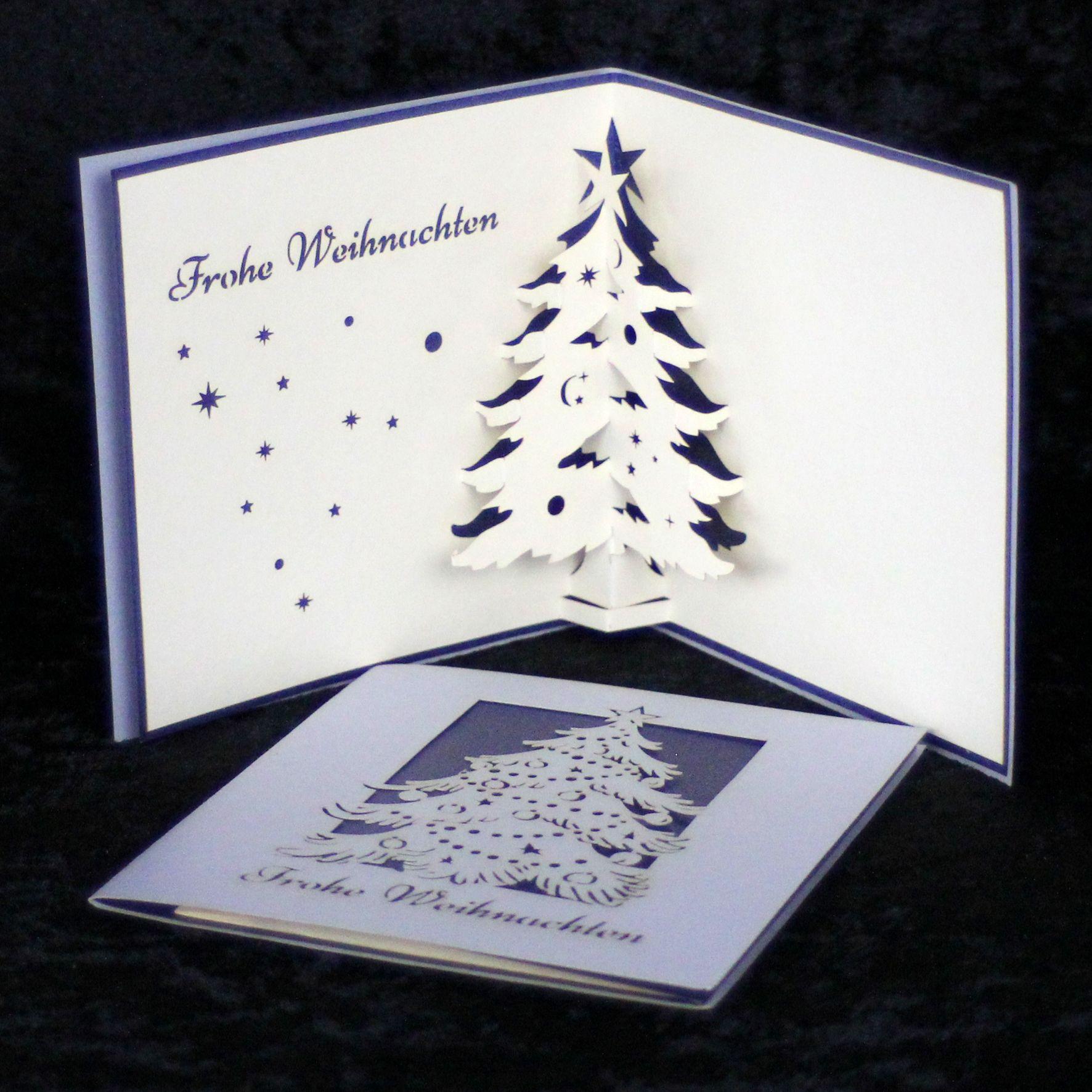 Pin von Cologne Cards Pop-Up Karten auf POP UP Karten Weihnachten ...