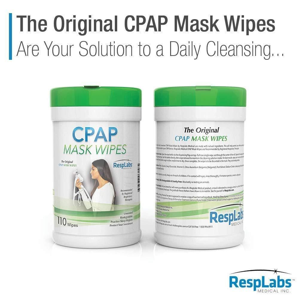 Cpap Mask Cleaning Wipes 110 Pack 2 X Travel Wipe Unscented Cpap Cleaner Cpap Cpap Mask Cleaning Wipes
