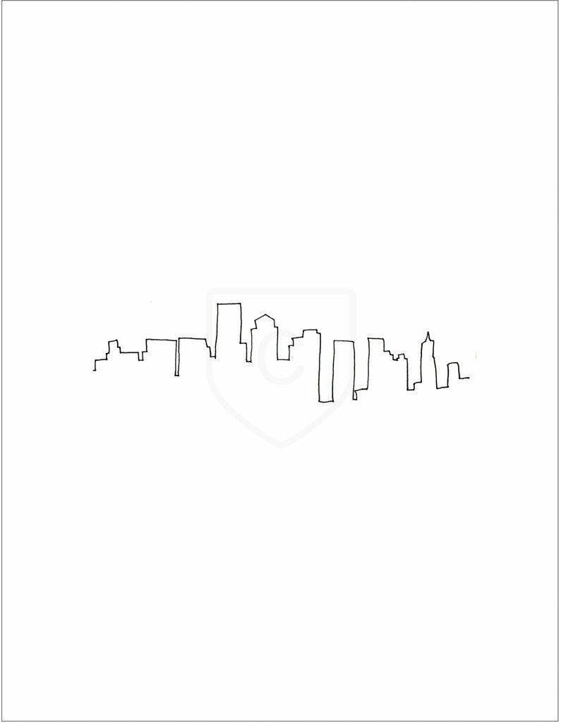 Dallas Skyline Tattoo Designs : dallas, skyline, tattoo, designs, Conscious, Design, Collaboration, Baxter, Original, Printed, Artwork, Also..., Prints, Numb…, Boston, Tattoo,, Skyline,, Skyline, Tattoo
