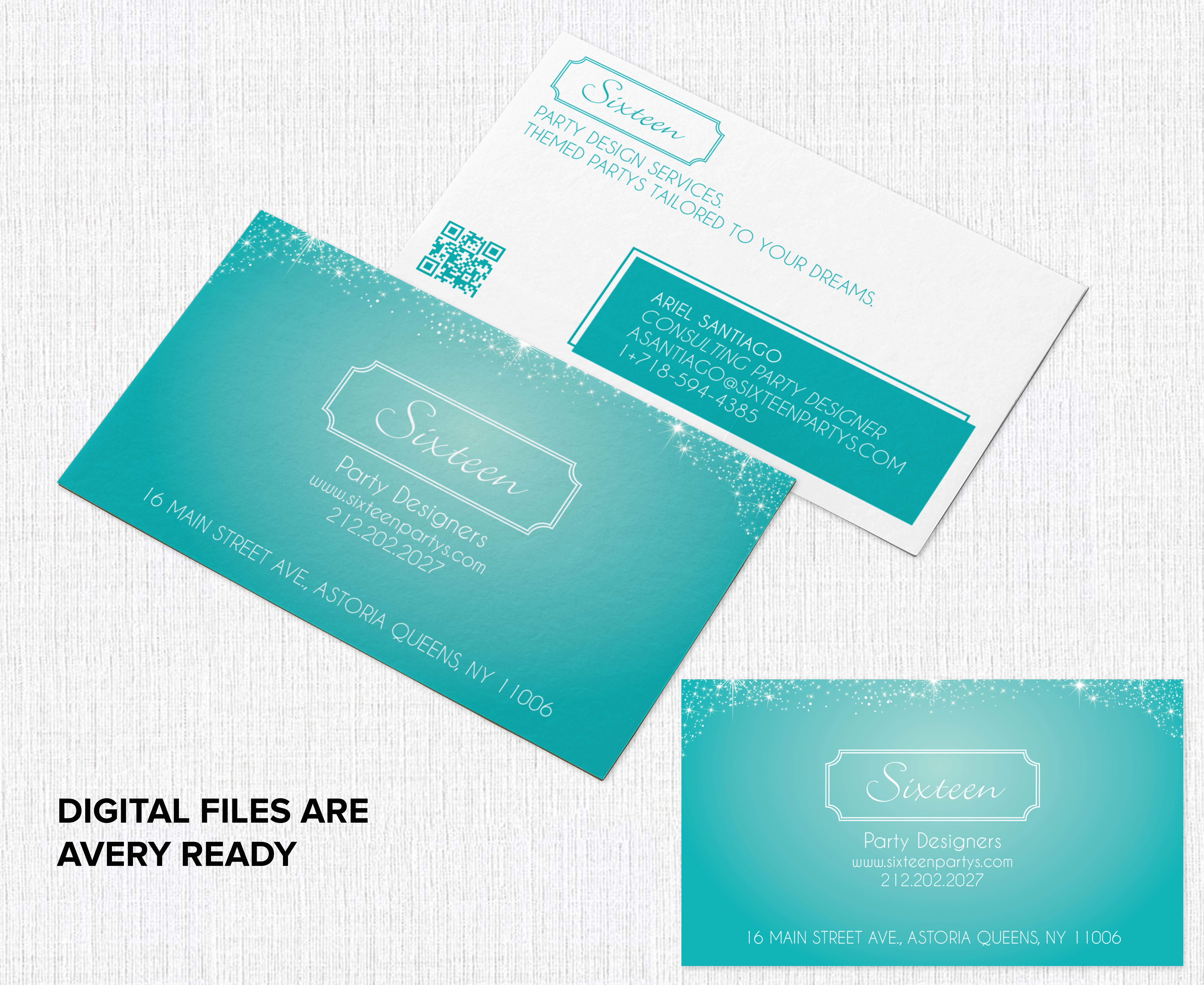 Avery Ready Printable Business Cards Businesscards