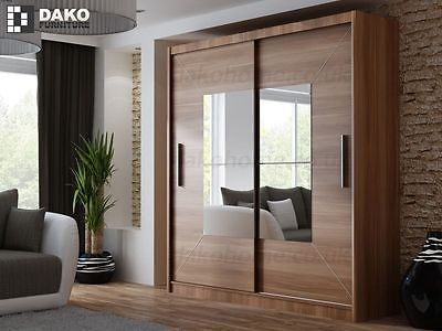 designer fashion dda6a a3994 Details about Brand New Modern Bedroom Sliding Door Wardrobe ...