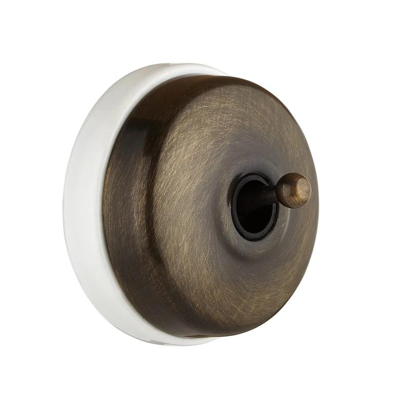 Double Interrupteur Va Et Vient Complet Fontini Dimbler Bronze Leroy Merlin Interrupteur Va Et Vient Interrupteur Porcelaine Interrupteur