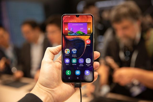 "FaceIdol.com on Instagram: ""Samsung Galaxy A50 costs $350 and has three rear cameras, available June 13 – FACEIDOL #available #cameras #Costs #faceidol #galaxy…"""