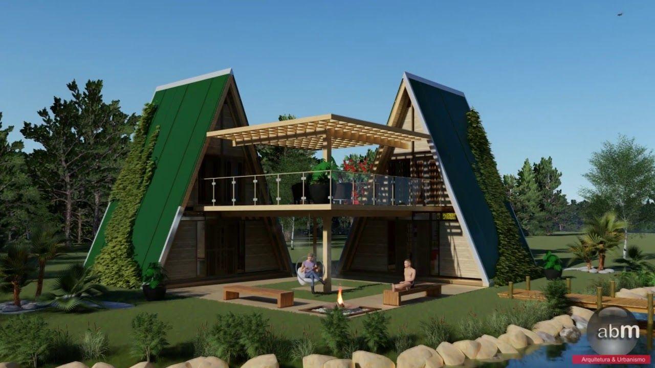 Chale De Madeira Modelo Connection Em 2020 Chale Projectos De Casas Decoracao De Casas De Campo