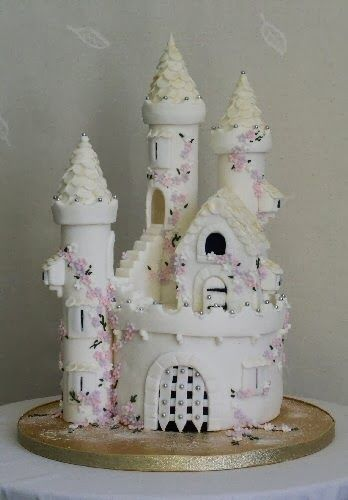 girls fairy princess castle birthday cake Amazing Cakes for Kids