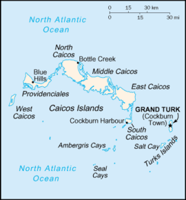 Map of Turks & Caicos. #vacation