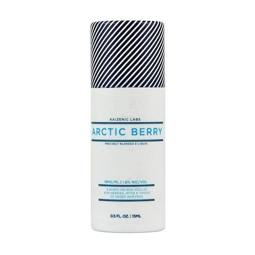 Artic Berry by Kaizenic Labs E-Juice - Raspberry, Strawberry, Menthol and Blueberry.A blend packed full of ripe berries with just a touch of sweet menthol.60% VG