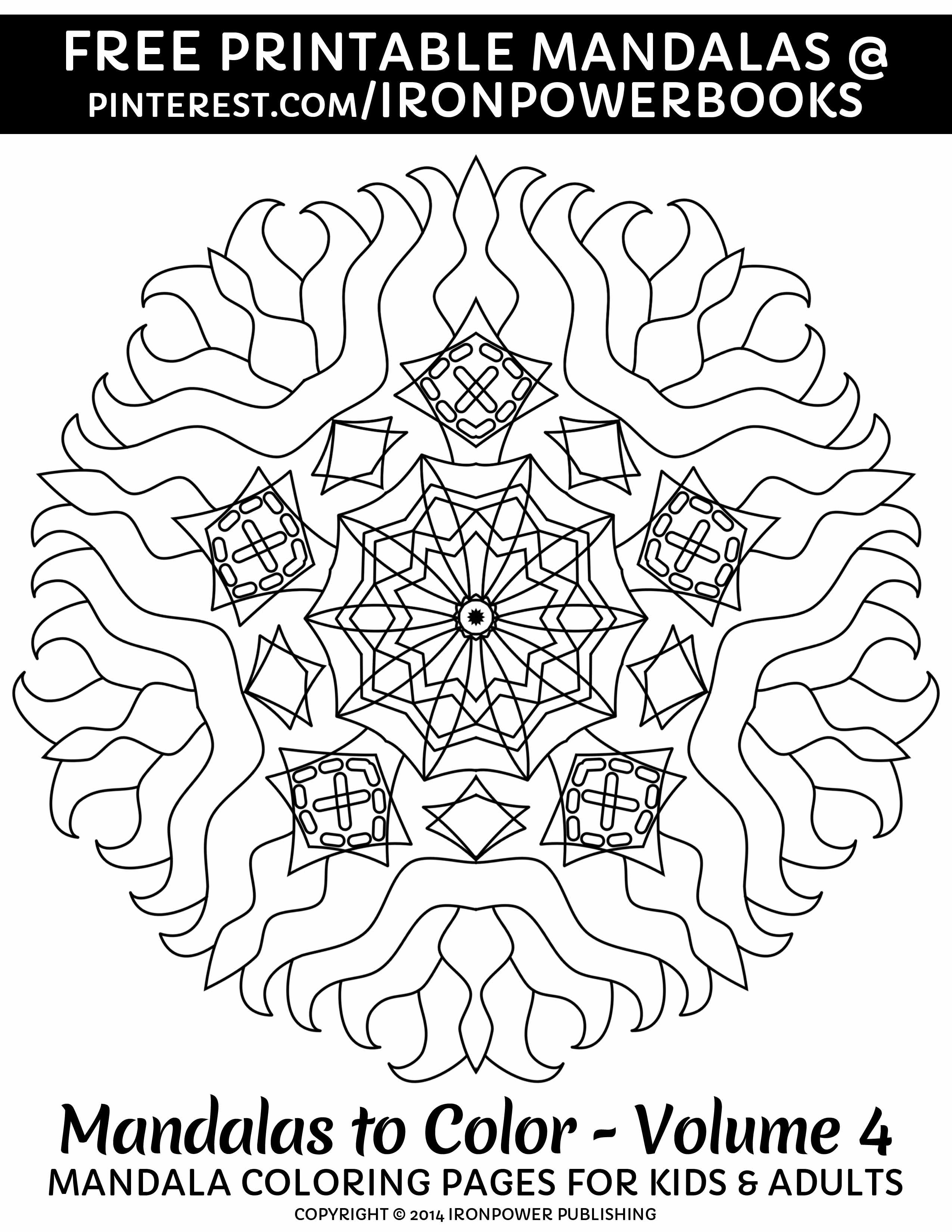 Easy Art Therapy Coloring Pages Mandalas Printable Pages From Ironpowerbooks For More 49 Ea Mandala Coloring Pages Mandala Coloring Books Mandala Coloring